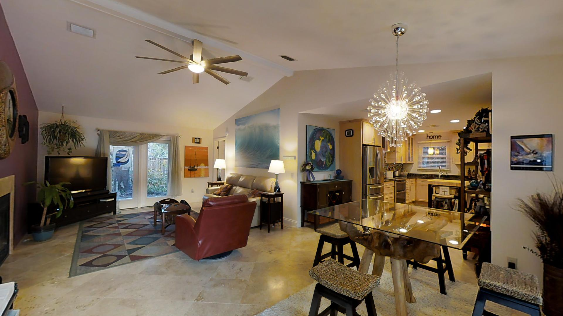 Vaulted Ceiling Beach Home Plans For Gulf Coast Florida